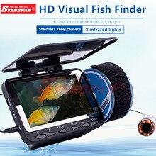 SYANSPAN Fish Finder telecamera subacquea per la pesca sul ghiaccio 4.3