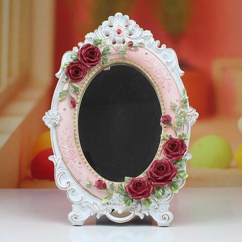 hold oval espelho redondo nobre restaurar antigas