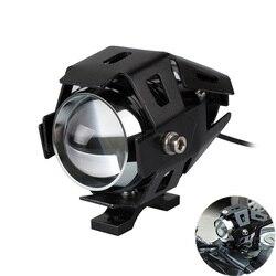 Reflektory motocykla U5 12V LED uniwersalna głowica światła DRL dla kawasaki zx6r 2006 vulcan 500 z750 vulcan 1500 vn 1500 -