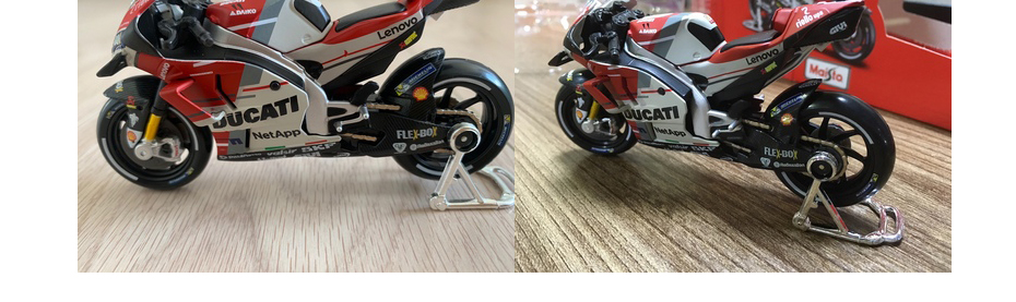 Moto GP Racing Motorcycle Toy Model Collection 12
