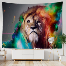 Tapestry Animals Table-Cloth Wall-Decoration Yoga-Mat Beach-Towel African 3D Lion-Pattern