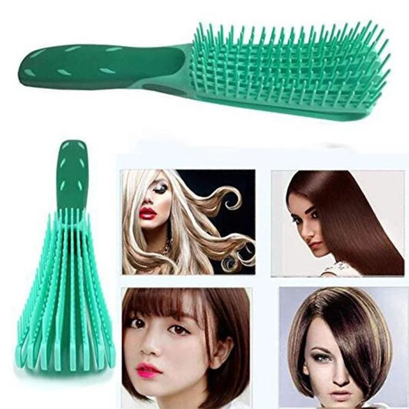 Easy To Do Up Straight Styling Comb Women Hair Comb Detangle Hairbrush Health Care Massage Brush Reduce Fatigue Drop Shipping