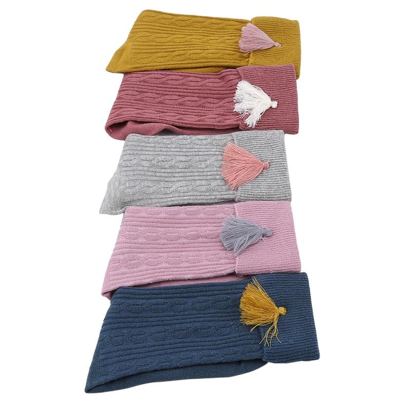 С кисточками детские носки для гольфы для девочек От 1 до 8 лет дети школьные принадлежности гольфы, высокие носки для девочек по уходу за