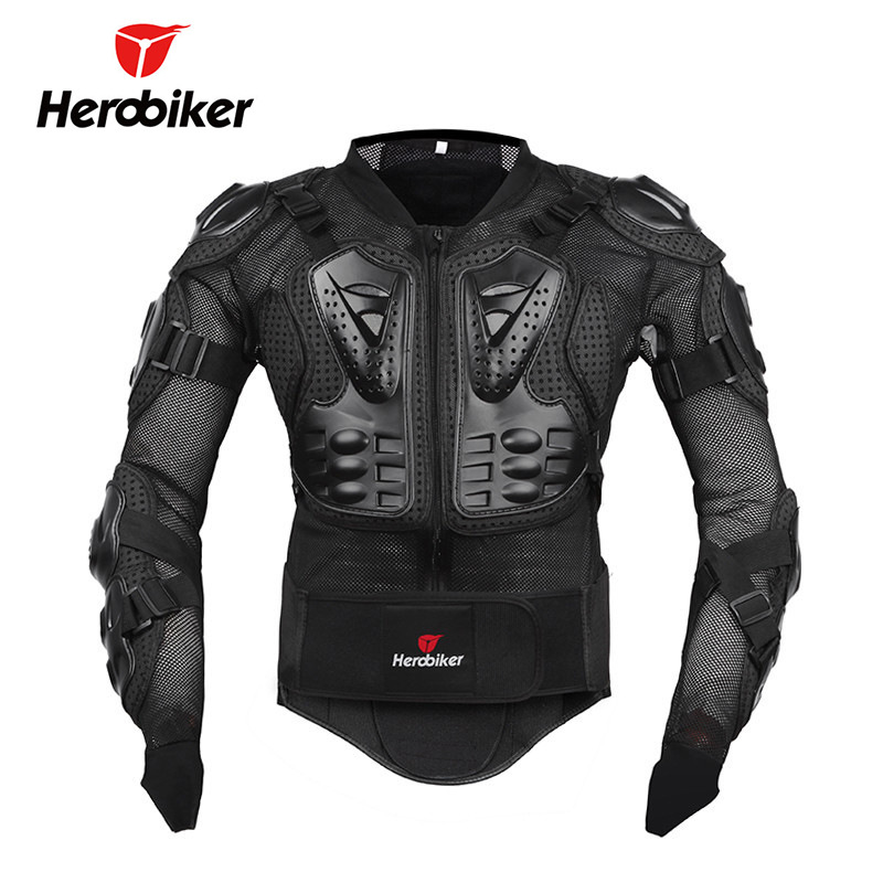 Herobiker E-Bike Protective Clothing Off-road Motorcycle Clothing Riding Clothes Shatter-resistant Armor Clothing Sports Armor