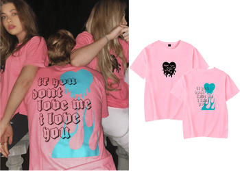 AVANI IF YOU DONT LOVE ME I LOVE YOU Shirt for men Printed Avani Gregg Fans Oversize O-neck Short Sleeve Women Funny T Shirt