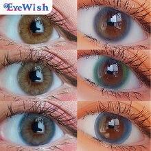 Eyewish 2pcs/пара masheng полные серии Цвет ed контактные линзы