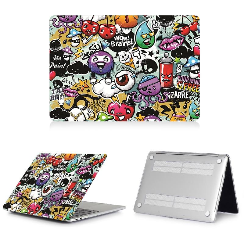 Image 5 - Carcasa de grafiti de dibujos animados MTT para Macbook Air Pro Retina 11 12 13 15 16 pulgadas barra táctil funda para mac book pro 16 funda para portátilBolsas y fundas de ordenador portátil   -
