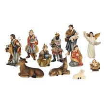 11pcs Christmas Nativity Set Scene Baby Jesus Figurines 4