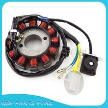 12 катушек 5 Провода Зажигания статора Магнето для GY6 125 150 cc двигателя китайский Мопед Скутер ATV