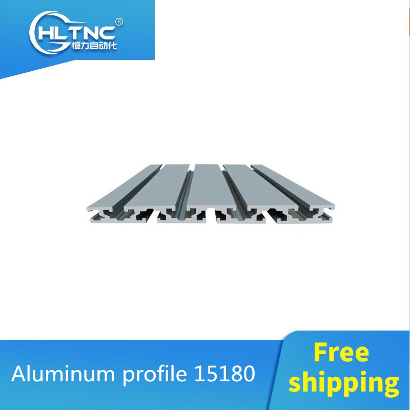 15180 Aluminum Extrusion Profile Wall Thickness 2.2mm Groove Width 8mm Length 1000mm Industrial Aluminum Profile Workbench 1pcs