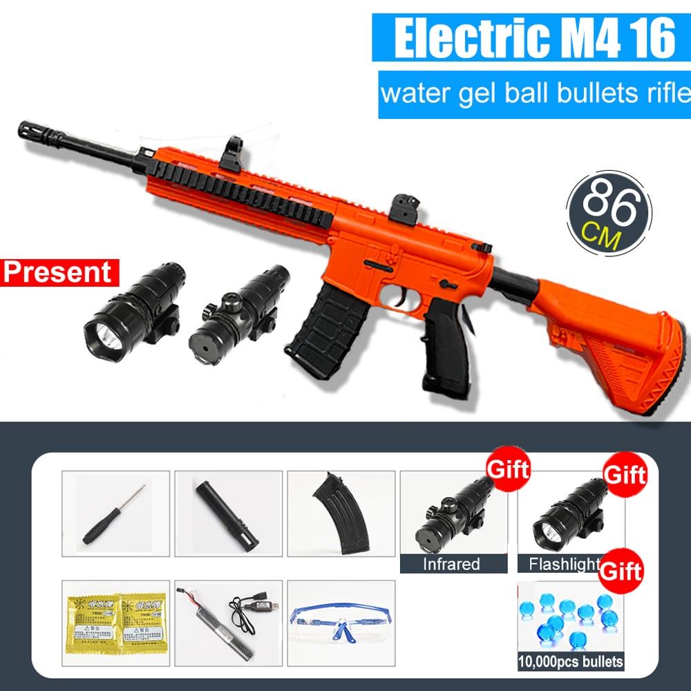 Water Gun M416 Automatic & Manual | Water Bullets Blaster 3