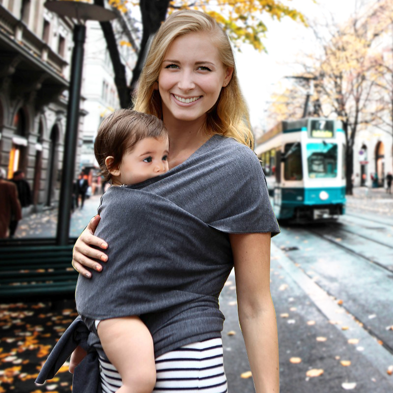 0-30 Months Soft Cotton Baby Sling Breathable Baby Carrier Porta Bebe Infant Comfortable Baby Wrap Nursing Cover
