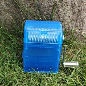 Image 4 - HORNET 플라스틱 허브 분쇄기 핸드 크랭크 분쇄기 흡연 분쇄기 담배 커터 분쇄기 보관 케이스 핸드 밀러