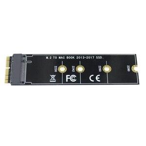 Image 4 - م مفتاح M.2 ل NGFF PCIe SSD بطاقة محول لابل ماك بوك اير 2013 ~ 2017 A1465 A1466 برو A1398 A1502 A1419 2230 2280 SSD