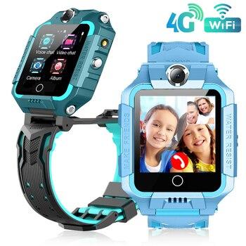 T10 GPS Wifi SOS 4G Smart Watch Baby IP67 waterproof Camera position Tracker Kids Smartwatch Boys Girl Gift