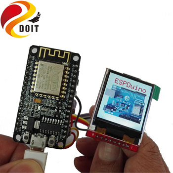 Макетная плата SZDOIT ESP8266 с TFT-экраном, плата NodeMCU, функция «Интернет вещей», «умный дом» для Arduino