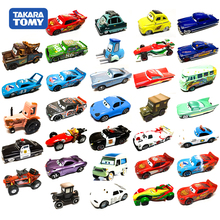 TarakaTomy Automobile Story Alloy Toy Car Banya Flying Brother McQueen Car King Roadmaster Sally Sheriff Cabo For Children Toys