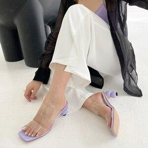 Women Jelly Shoes Pumps Transp