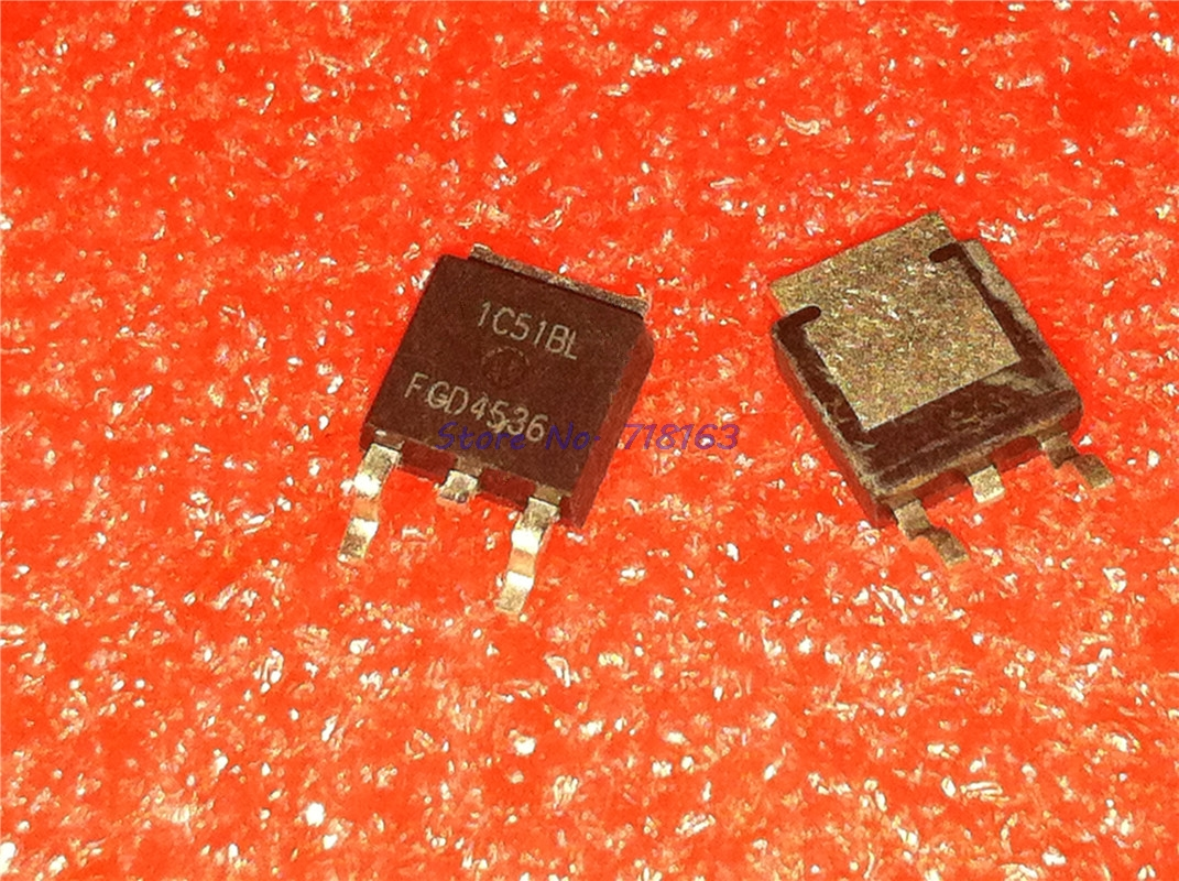 10pcs/lot FGD4536 TO-252 FGD4536TM TO252 New Original In Stock