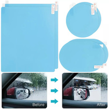Anti-Fog-Film Protective-Films Auto-Side-Mirror-Window Car 6pcs/Set