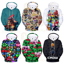 3D Shooting Game Printed Hoodie Sweatshirt Boys Girls Long Sleeve Hoodies Harajuku Streetwear Jacket Coat Clothes