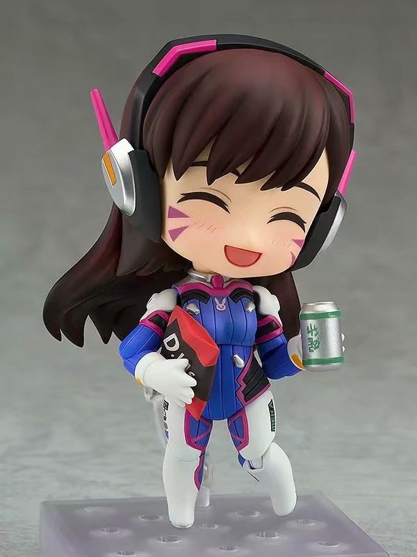 Anime Overwatches Figure Two Faces Classic Skin D.Va 847 ON  Slime Rimuru Tempest 1067 Action Figure Model Toys Children Lovely 2