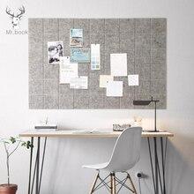 Tablero de notas de fieltro de estilo nórdico tablero de mensajes decoración del hogar Oficina agenda de planificación tablero de foto pantalla decoración de pared