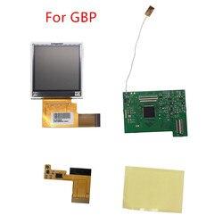 5 قطاعات عالية ضوء LCD شاشة تعديل عدة ل Nintend GBP استبدال LCD شاشة وحدة التحكم غمبد اكسسوارات