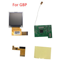 5 Segments High Light LCD Screen Modification Kit For Nintend GBP Replacement LCD Screen Console Gamepad Accessories