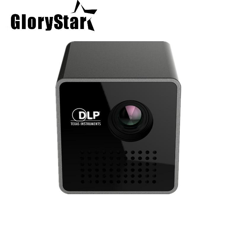 Nouveau Original P1 + WIFI LED sans fil Mini projecteur intelligent Support Miracast DLNA 30Lumes projecteur vidéo portable