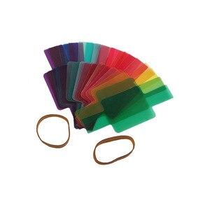 Image 3 - Speedlite Opelカメラ用フィルターカード,12色または20パック,フラッシュ,カラー,カメラ,ニコン,フォーカス用