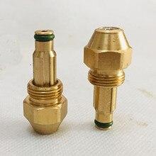 Residuos boquilla para Quemador de aceite quemador jet siphone Cono Lleno aceite boquilla quemador inyector de aceite de aire boquilla de atomización
