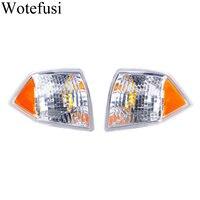 Wotefusi 2pcs Carro ABS Plástico Piscas Apto para Jeep Compass 2007 2008 2009 2010 [QPA638]