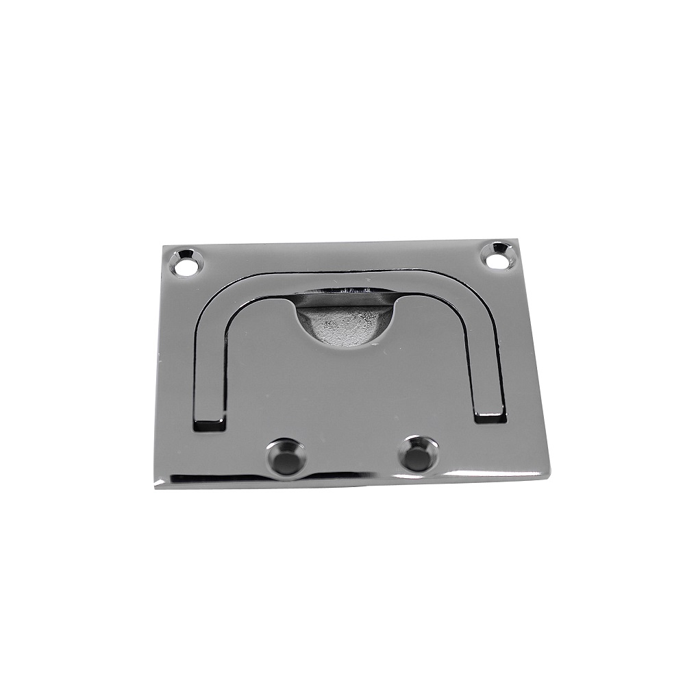 316 Stainless Steel Square Marine Boat Slam Latch 57*76mm Mirror Polishing Sailboat Deck Hatch Yacht Accessories Hardware