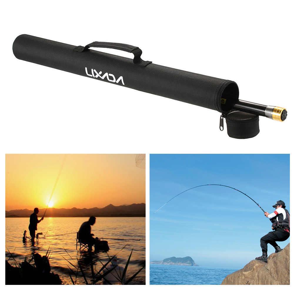 Baru Panas Fishing Rod Tas 69 CM Tas Pancing Portabel Lipat Batang Tiang Alat untuk 4-5 Bagian Terbang pancing Tas Pesca