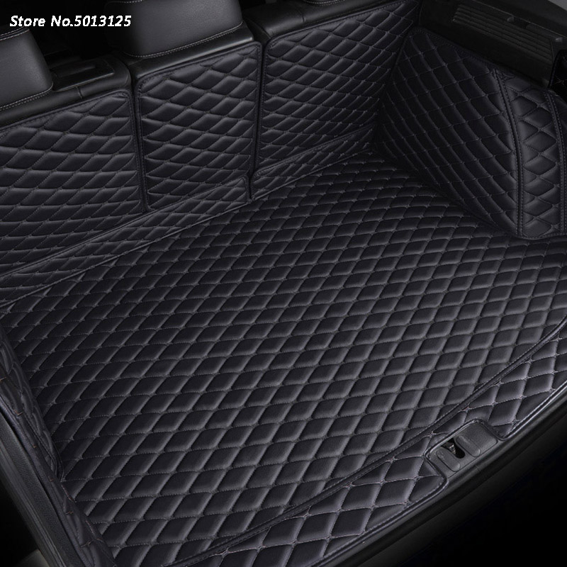 For Toyota Land Cruiser Prado FJ150 2010-2018 Car All Inclusive Rear Trunk Mat Car Boot Liner Tray Rear Trunk Accessories