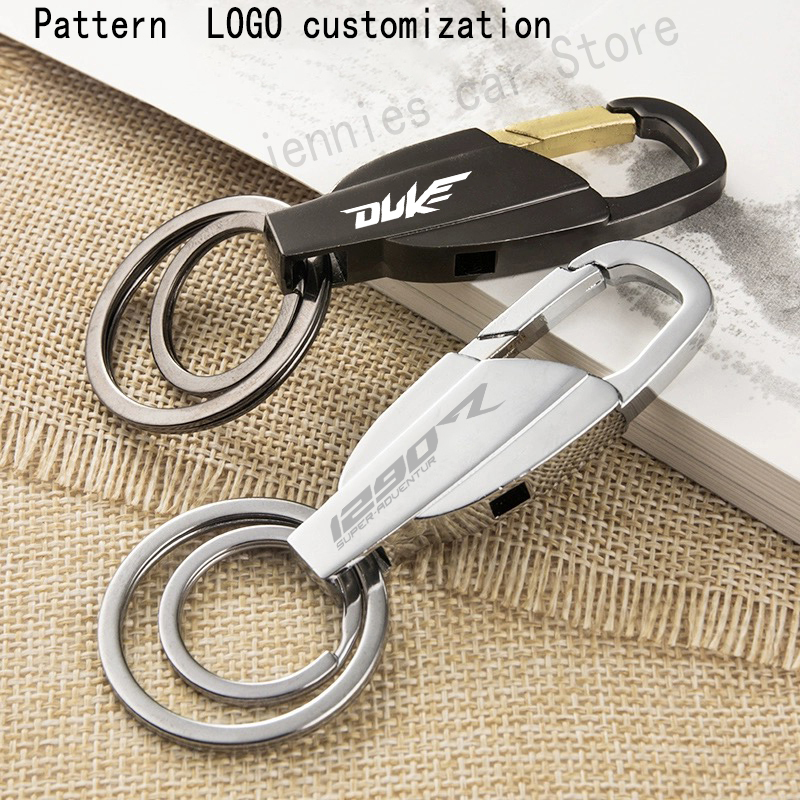 Keyring Metal motorcycle Key Ring Keychain for KTM Adventure 790 990 1050 1090 1190 1290 SUPER ADVENTURE R Duke 125 200 250 39