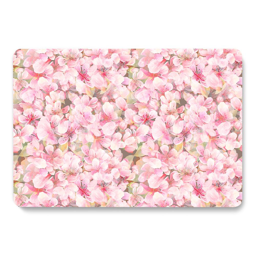 Flowers Pattern Case for MacBook 7