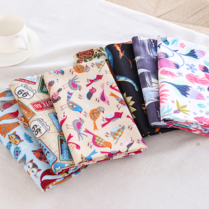 Hot Sales Cartoon Pattern Series Cotton Fabric Diy Handmade Patchwork Cotton Cloth Home Textile P81