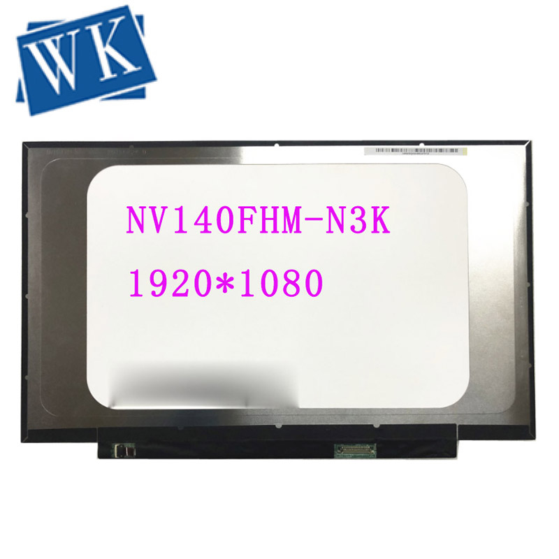 NV140FHM-N3K NV140FHM N3K 14.0''Laptop LCD LED Screen Panel Matrix 1920*1080 30 PIN