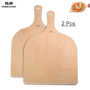 Wooden Pizza Paddle Spatula Pizza Shovel Peel Cutting Board Kitchen Pizza Tray Plate Bakeware Pastry Tools Accessories