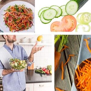 Image 5 - מזון מעבד ירקות חותך עגול חשמלי מבצע מגרדת תפוחי אדמה גזר Shredder כלי פריסת ירקות ופר למטבח Sonifer