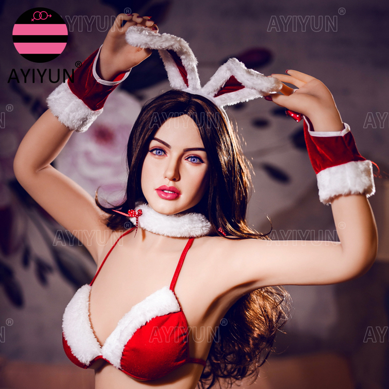 Ayiyun alta qualidade sexo boneca real silicone tamanho adulto anime gato completo sexy grande peito boneca de amor realista brinquedos para homens bunda vagina