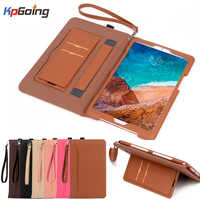 Xiao mi mi Pad 4 Plus Case Hülle Tasche PU Leder Abdeckung Business mi pad 4 Plus Smart Tablet Xao mi Pad4 Plus Globale Fall W/Streifen
