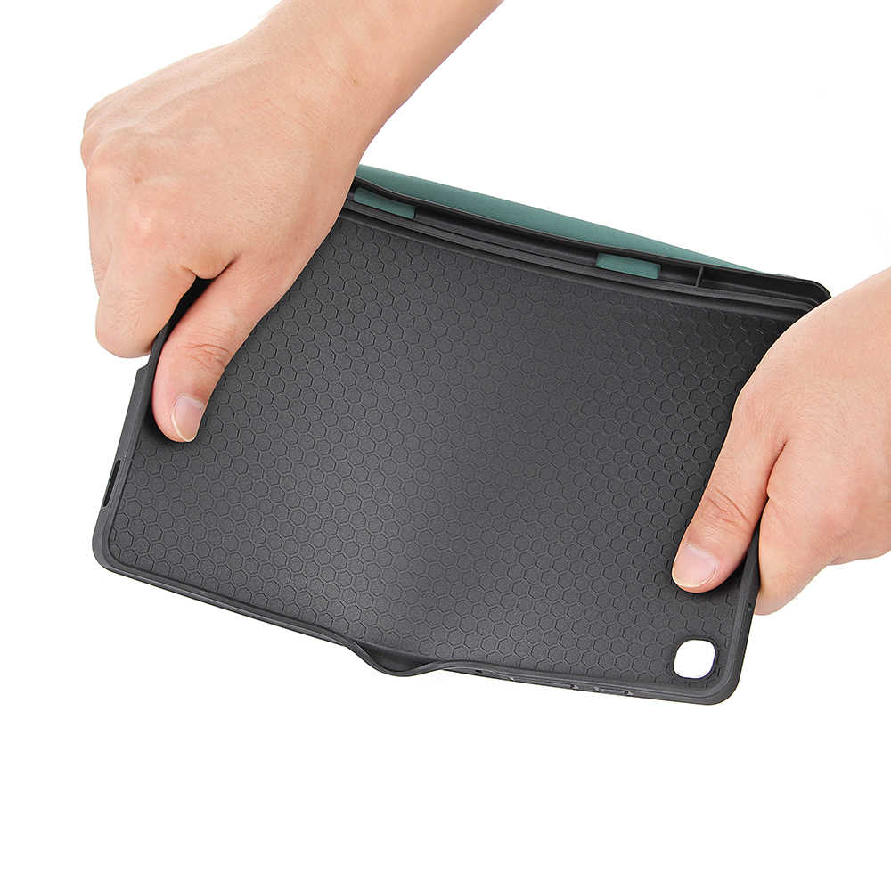 สำหรับSamsung Galaxy Tab S6 Lite 10.4 นิ้วP610 P615 SM-P610 SM-P615 แท็บเล็ตผู้ถือดินสอฝาครอบ