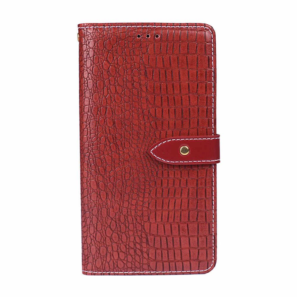 Чехол для телефона Leagoo M11, [наличные и отделения для карт], кожаный чехол с крокодиловым узором, флип-чехол для телефона Leagoo M11