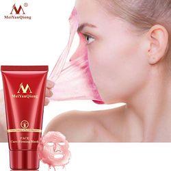 Limpieza Profunda purificación de la cáscara de la mascarilla Facial de barro negro eliminar la mascarilla facial de la cabeza negra removedor de acné de la nariz de fresa cuidado de la cara
