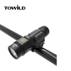 TOWILD BC06 CREE XM-L2 U3 LED 1000 lumenów latarka rowerowa z akumulatorem 4800mAh
