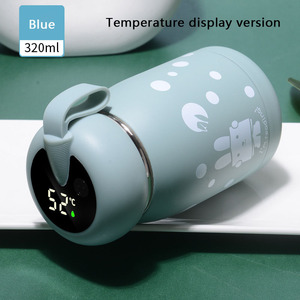 Image 5 - 320ml Intelligent Thermos Coffee Bottle Basis and Temperature Display Version Stainless Steel Vacuum Water Cup Lovely Coffee Mug