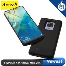 For Huawei Mate 20X Battery Case 6000 Mah External